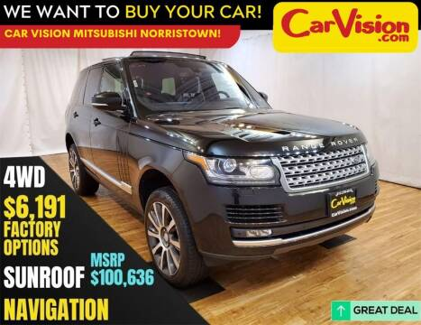 2016 Land Rover Range Rover for sale at Car Vision Mitsubishi Norristown in Trooper PA