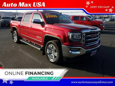 2018 GMC Sierra 1500 for sale at Auto Max USA in Yakima WA