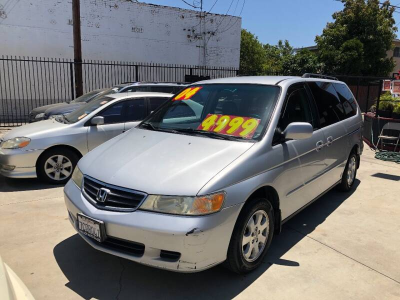 2004 Honda Odyssey for sale at The Lot Auto Sales in Long Beach CA