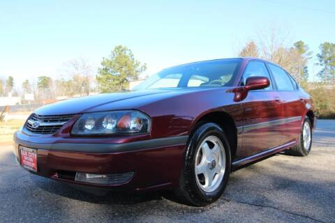 2001 Chevrolet Impala for sale at Oak City Motors in Garner NC