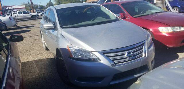 2014 Nissan Sentra for sale at Hotline 4 Auto in Tucson AZ