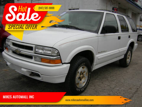 2000 Chevrolet Blazer for sale at MIKES AUTOMALL INC in Ingleside IL