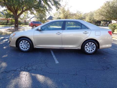 2012 Toyota Camry for sale at BALKCUM AUTO INC in Wilmington NC