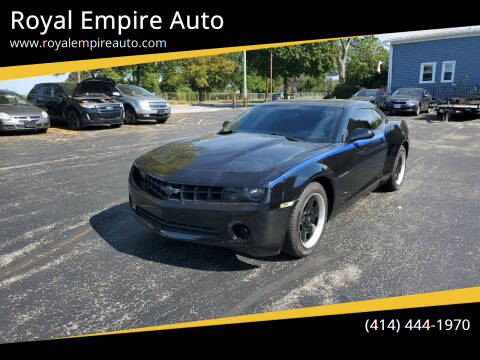 2012 Chevrolet Camaro for sale at Royal Empire Auto in Milwaukee WI