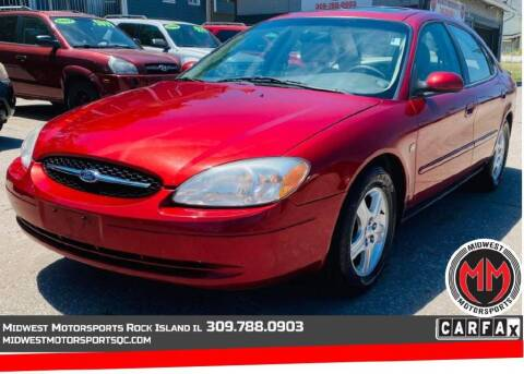 2000 Ford Taurus for sale at MIDWEST MOTORSPORTS in Rock Island IL