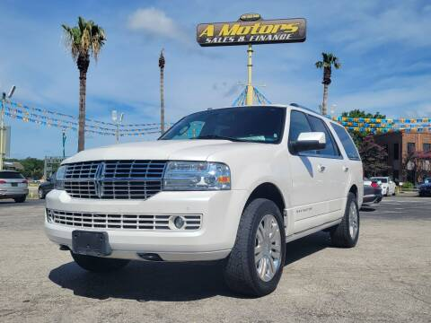 2011 Lincoln Navigator for sale at A MOTORS SALES AND FINANCE in San Antonio TX