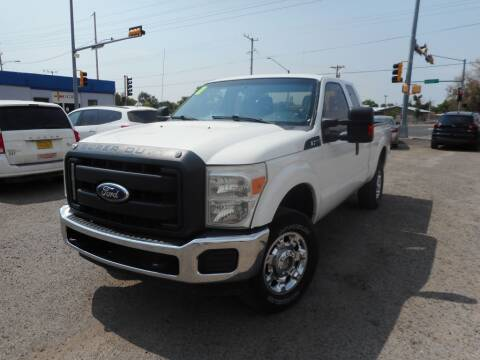 2011 Ford F-250 Super Duty for sale at AUGE'S SALES AND SERVICE in Belen NM