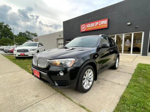 2015 BMW X3 for sale at HOUSE OF CARS CT in Meriden CT