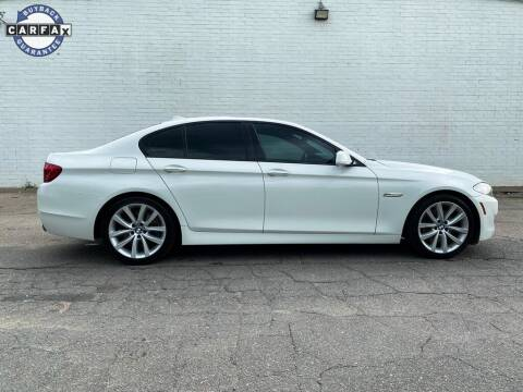 2012 BMW 5 Series for sale at Smart Chevrolet in Madison NC
