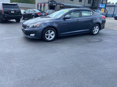2015 Kia Optima for sale at Sisson Pre-Owned in Uniontown PA