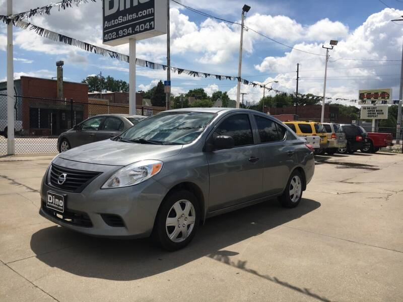 2014 Nissan Versa for sale at Dino Auto Sales in Omaha NE