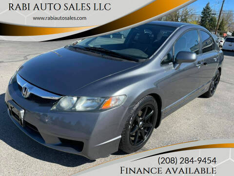 2011 Honda Civic for sale at RABI AUTO SALES LLC in Garden City ID