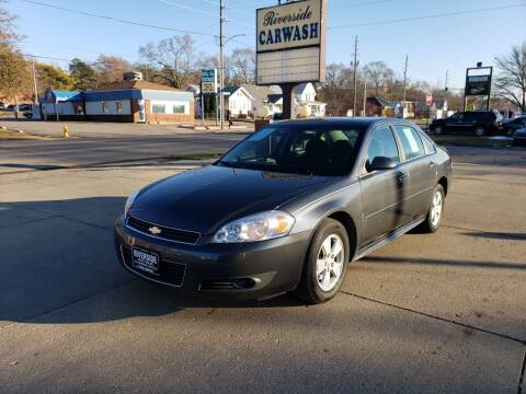 2010 Chevrolet Impala for sale at RIVERSIDE AUTO SALES in Sioux City IA