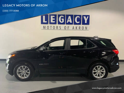 2020 Chevrolet Equinox for sale at LEGACY MOTORS OF AKRON in Akron OH