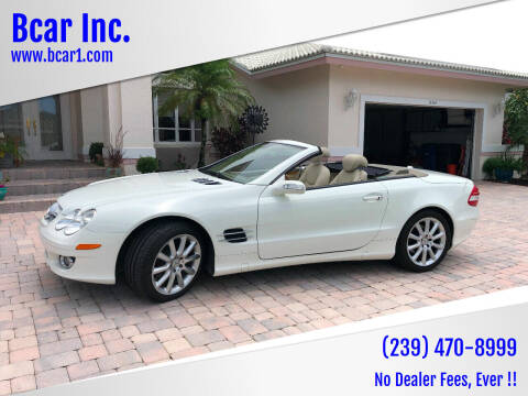 2007 Mercedes-Benz SL-Class for sale at Bcar Inc. in Fort Myers FL