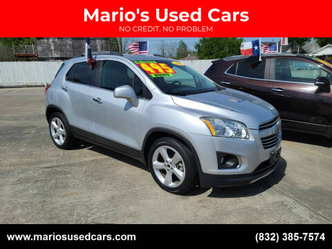 2016 Chevrolet Trax for sale at Mario's Used Cars - South Houston Location in South Houston TX