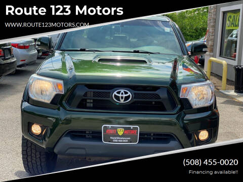 2012 Toyota Tacoma for sale at Route 123 Motors in Norton MA