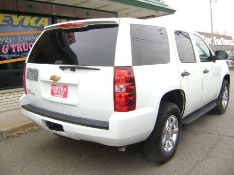 2013 Chevrolet Tahoe for sale at Cheyka Motors in Schofield WI