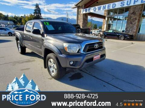2012 Toyota Tacoma for sale at Price Ford Lincoln in Port Angeles WA