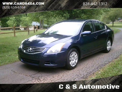 2011 Nissan Altima for sale at C & S Automotive in Nebo NC