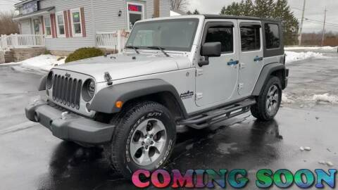 2010 Jeep Wrangler Unlimited for sale at RBT Automotive LLC in Perry OH