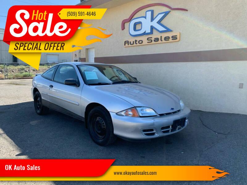 2002 Chevrolet Cavalier for sale in Kennewick, WA