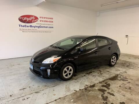 2012 Toyota Prius for sale at The Car Buying Center in St Louis Park MN