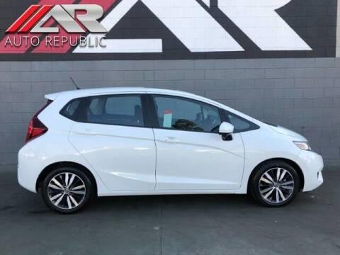 2017 Honda Fit for sale at Auto Republic Fullerton in Fullerton CA