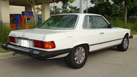 1978 Mercedes-Benz 450 SL for sale at Premier Luxury Cars in Oakland Park FL