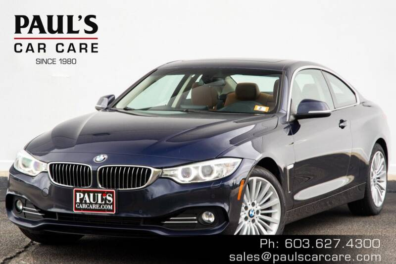 2014 BMW 4 Series for sale at Paul's Car Care in Manchester NH