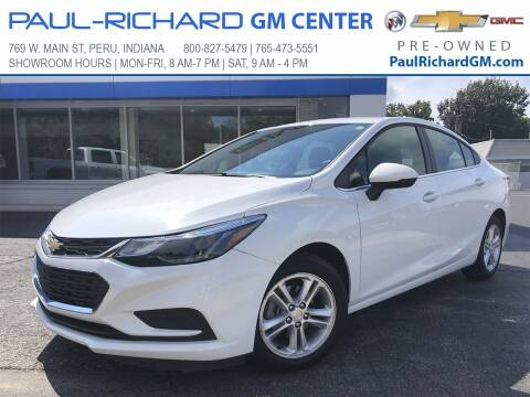 2018 Chevrolet Cruze for sale at Paul-RICHARD Gm Ctr in Peru IN