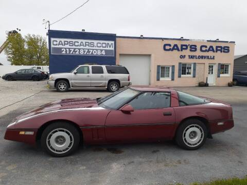 1987 Chevrolet Corvette for sale at Caps Cars Of Taylorville in Taylorville IL