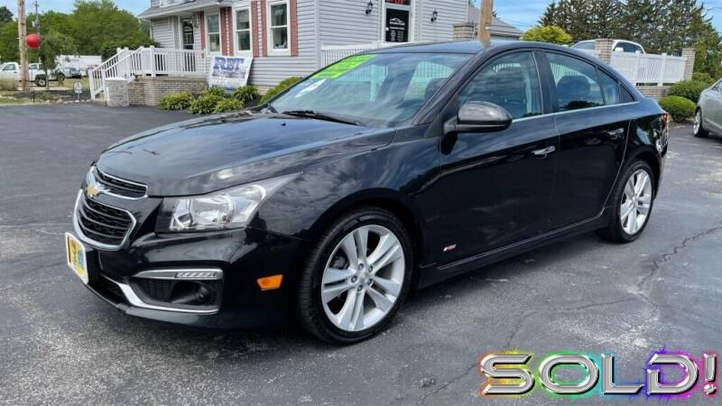 2015 Chevrolet Cruze for sale at RBT Automotive LLC in Perry OH