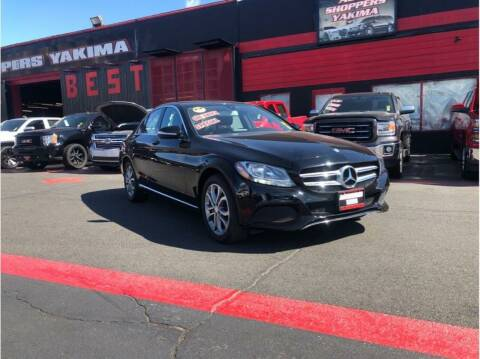 2015 Mercedes-Benz C-Class for sale at AUTO SHOPPERS LLC in Yakima WA