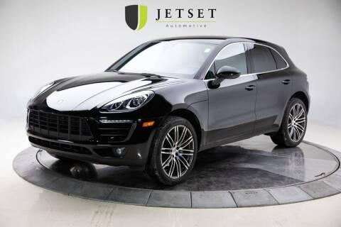 2018 Porsche Macan for sale at Jetset Automotive in Cedar Rapids IA