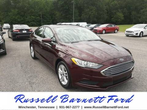 2018 Ford Fusion for sale at Oskar  Sells Cars in Winchester TN