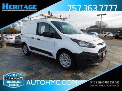 2016 Ford Transit Connect Cargo for sale at Heritage Motor Company in Virginia Beach VA