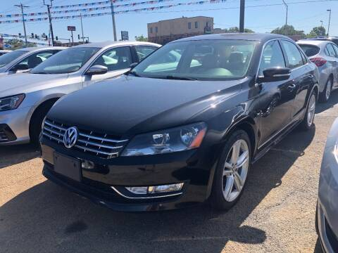 2013 Volkswagen Passat for sale at Greg's Auto Sales in Poplar Bluff MO