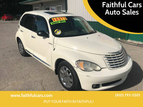 2006 Chrysler PT Cruiser for sale at Faithful Cars Auto Sales in North Branch MI