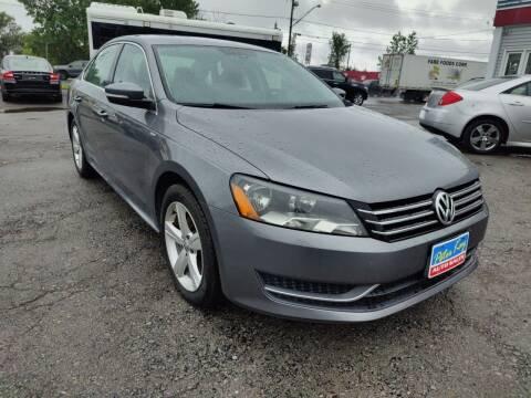 2014 Volkswagen Passat for sale at Peter Kay Auto Sales in Alden NY