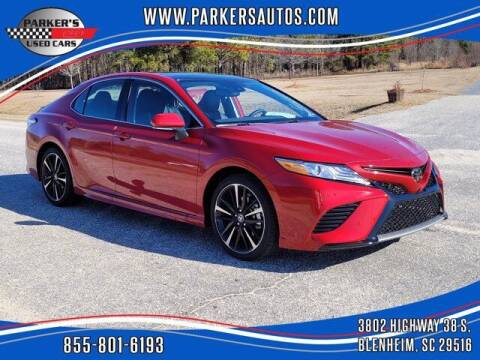 2020 Toyota Camry for sale at Parker's Used Cars in Blenheim SC