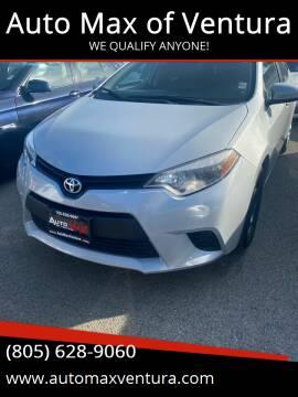 2014 Toyota Corolla for sale at Auto Max of Ventura in Ventura CA