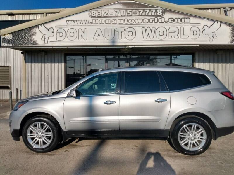 2015 Chevrolet Traverse for sale at Don Auto World in Houston TX