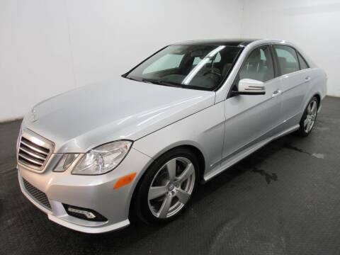 2011 Mercedes-Benz E-Class for sale at Automotive Connection in Fairfield OH