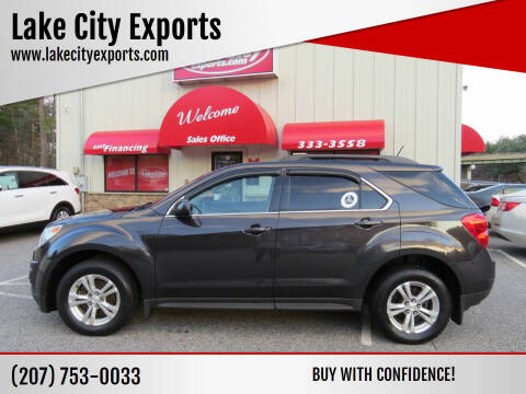 2014 Chevrolet Equinox for sale at Lake City Exports in Auburn ME