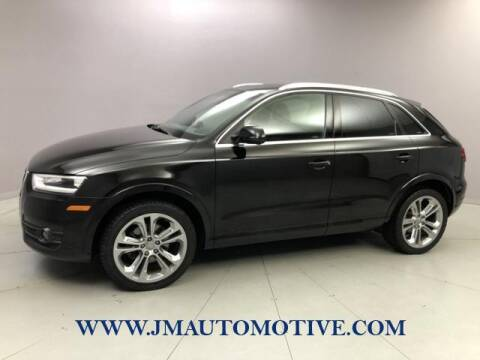 2015 Audi Q3 for sale at J & M Automotive in Naugatuck CT