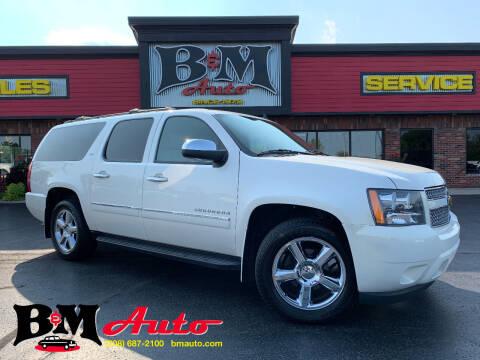 2011 Chevrolet Suburban for sale at B & M Auto Sales Inc. in Oak Forest IL