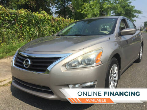 2015 Nissan Altima for sale at New Jersey Auto Wholesale Outlet in Union Beach NJ