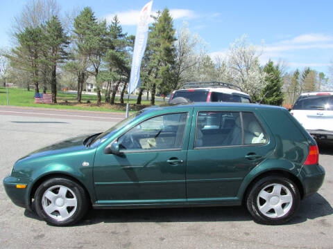 2001 Volkswagen Golf for sale at GEG Automotive in Gilbertsville PA