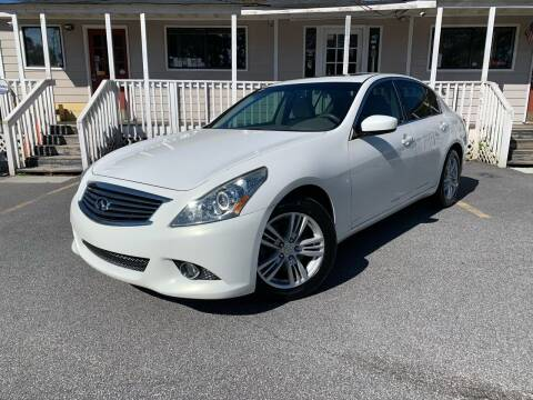 2012 Infiniti G37 Sedan for sale at Georgia Car Shop in Marietta GA